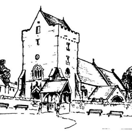 St Johns Church Newton drawing
