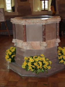 All Saints font