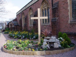 Easter Garden at All Saints 2015