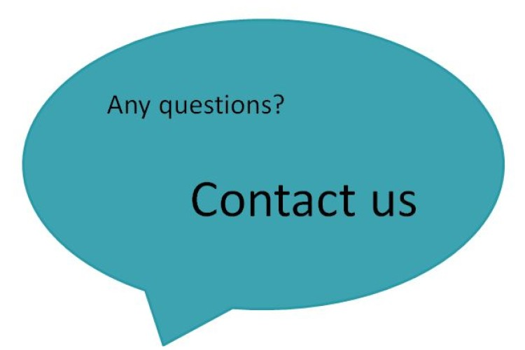 Any questions - contact us