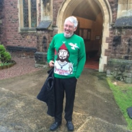 The Rector's Christmas jumper!