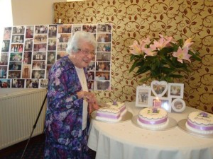 Janet Gibbon 100 years old
