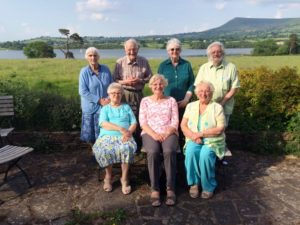 Llangasty retreatants June 2016