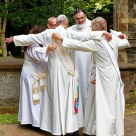 Geoff Lunn ordination as Deacon